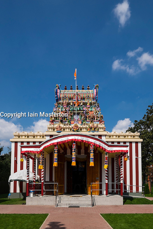 Sri Mayurapathy Murugan Tamil Temple in Berlin Germany