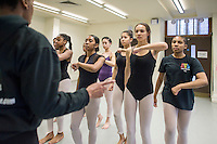 On their final day of term, Kamara Gray, Principal of the youth dance company, Artistry Youth Dance, invites family to observe the dancers in their regular technique classes. The December 2016 schedule was; ballet class with Leila Jelassi, Jazz class with Kamara Gray and the contemporary Caribbean choreography by Shelley Maxwell