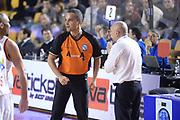 DESCRIZIONE : Campionato 2013/14 Acea Virtus Roma - Sidigas Avellino<br /> GIOCATORE : Saverio Lanzarini Luca Dalmonte<br /> CATEGORIA : Arbitro Referee Delusione<br /> SQUADRA : Acea Virtus Roma<br /> EVENTO : LegaBasket Serie A Beko 2013/2014<br /> GARA : Acea Virtus Roma - Sidigas Avellino<br /> DATA : 02/02/2014<br /> SPORT : Pallacanestro <br /> AUTORE : Agenzia Ciamillo-Castoria / GiulioCiamillo<br /> Galleria : LegaBasket Serie A Beko 2013/2014<br /> Fotonotizia : Campionato 2013/14 Acea Virtus Roma - Sidigas Avellino<br /> Predefinita :