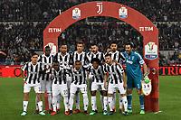 Formazione Juventus Team Line Up <br /> Roma 09-05-2018  Stadio Olimpico  <br /> Football Calcio Finale Coppa Italia / Italy's Cup Final 2017/2018 Juventus - Milan<br /> Foto Andrea Staccioli / Insidefoto