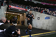 All Blacks Richie Mo'unga during the Rugby Championship match between the New Zealand All Blacks & South Africa at Westpac Stadium, Wellington on Saturday 27th July 2019. Copyright Photo: Grant Down / www.Photosport.nz