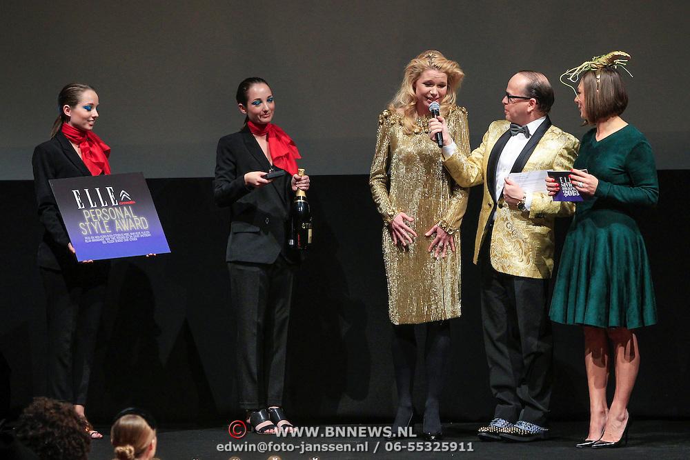 NLD/Amstrdam/20130122 - Elle Style Award  2013, Tjitske Reidinga wint de Elle Personal Style Award