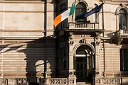 Exterior of the Irish Embassy at 17 Grosvenor Place, London SW1.