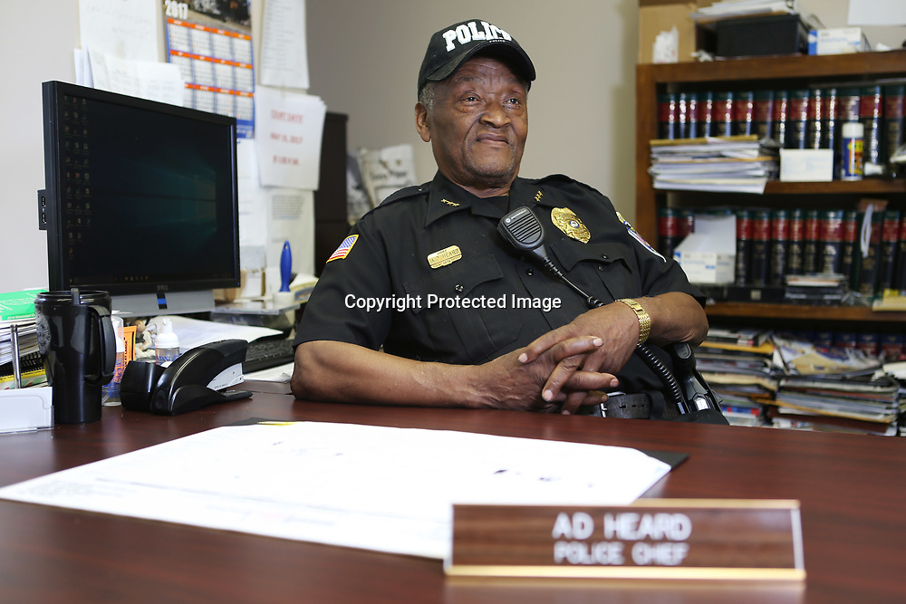 Nettleton Police Chief A.D. Heard is retiring after serving since 1976.