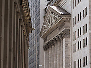 The New York Stock Exchange building at Wallstreet