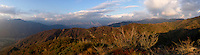 San Gabriel Mountains Panoramic, Angeles National Forest, California