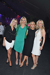 Left to right, CAROLINE HABIB, AMARYLLIS FRASER, PATSY KENSIT and JENNY HALPERN-PRINCE at Gabrielle's Gala an annual fundraising evening in aid of Gabrielle's Angel Foundation for Cancer Research held at Battersea Power Station, London on 2nd May 2013.
