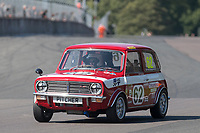 #62 Neil KAVANAGH British Leyland Mini 1275 GT  during HSCC Dunlop Saloon Car Cup  as part of the HSCC Oulton Park Gold Cup  at Oulton Park, Little Budworth, Cheshire, United Kingdom. August 25 2019. World Copyright Peter Taylor/PSP. Copy of publication required for printed pictures.