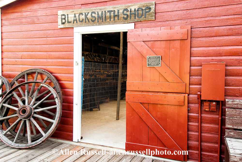 Big Horn County Historical Museum, Hardin, Montana, Blacksmith Shop