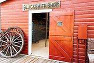 Big Horn County Historical Museum, Hardin, Montana, Blacksmith Shop