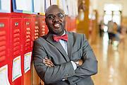 Shaker Schools Superintendant Gregory Hutchings Jr. at Shaker City Schools on May 18, 2016.