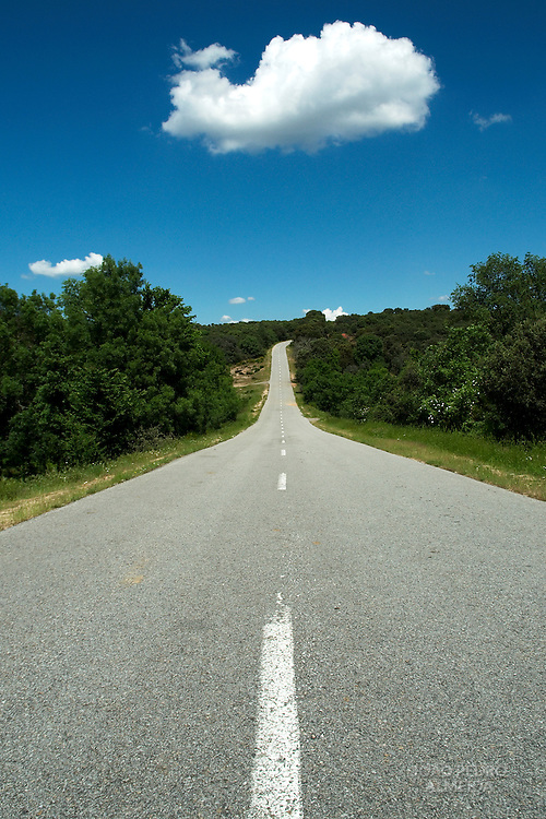 Road at Northern Portugal