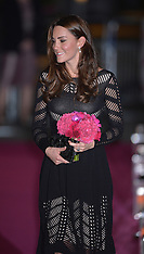 OCT 23 2014 Duchess of Cambridge attends Action on Addiction Dinner
