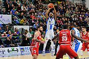Randolph Levi<br /> Banco di Sardegna Dinamo Sassari - The Flexx Pistoia<br /> LegaBasket Serie A LBA Poste Mobile 2017/2018<br /> Sassari 16/12/2017<br /> Foto Ciamillo-Castoria