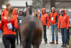 Team Netherlands, Renske Kroeze, Betina Hoy, Kooremans Raf, Van de Vendel Theo<br /> World Equestrian Games - Tryon 2018<br /> © Hippo Foto - Dirk Caremans<br /> 16/09/2018