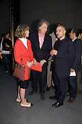 SIR PAUL AND LADY SMITH;; DIDIER FIUZA FAUSTINO - ARCHITECT FOR THE HBOX. HBOX opening Hosted by Tate Modern and Hermes.  Turbine Hall. London. 3 July 2008.  *** Local Caption *** -DO NOT ARCHIVE-© Copyright Photograph by Dafydd Jones. 248 Clapham Rd. London SW9 0PZ. Tel 0207 820 0771. www.dafjones.com.