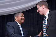 Arts & Sciences Awards Dinner and Ceremony 9/29/06..Spirit Award given to Eva Gunasekera,AB,MA '01, Political Science..Dinstinguished Alumni Awards given to: Jeffrey Clark,AB '72,Political Science..Dinstinguished Alumni Awards given to: J. Michael Lawrine,AB '75,History..Dinstinguished Alumni Awards given to: Marie Tharp,AB,'43 English