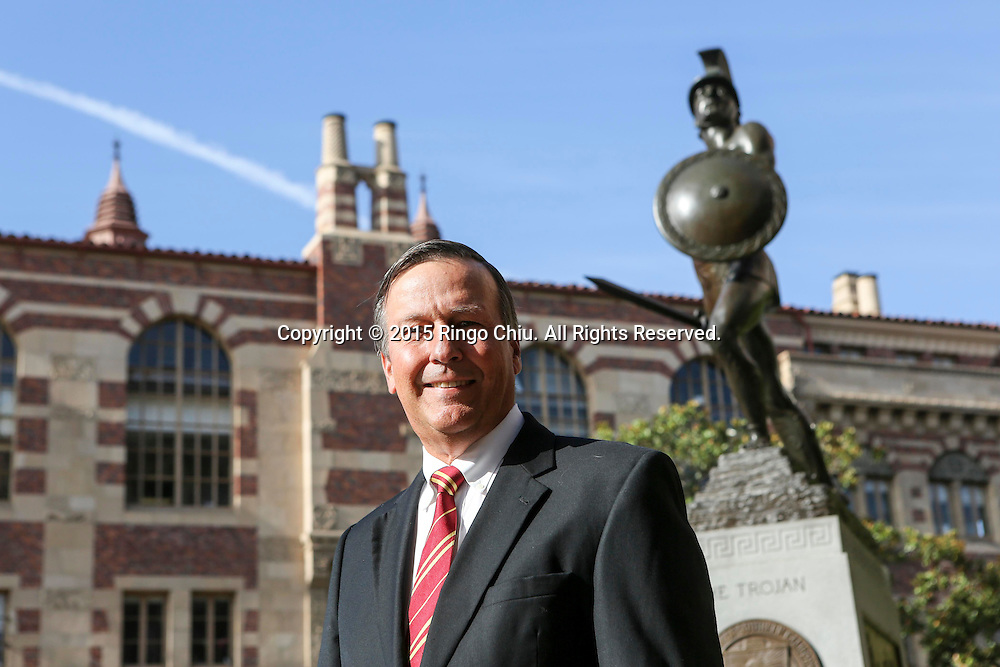 Ken Ude, director at USC Marshall Family Business.<br /> (Photo by Ringo Chiu/PHOTOFORMULA.com)