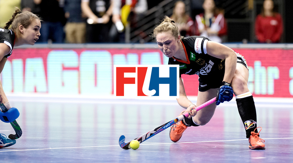 BERLIN - Indoor Hockey World Cup<br /> Final: Netherlands - Germany<br /> Germany wins the world championship.<br /> foto: Nike Lorenz.<br /> WORLDSPORTPICS COPYRIGHT FRANK UIJLENBROEK