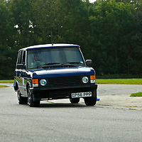 1986 Range Rover, The 2009 World's Fastest Land Rover competition, Bruntingthorpe test track