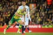 Norwich City forward Teemu Pukki (22) goes on a run during the EFL Sky Bet Championship match between Norwich City and Blackburn Rovers at Carrow Road, Norwich, England on 27 April 2019.