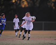 Lafayette High vs. Grenada in girls high school soccer in Oxford, Miss. on Tuesday, December 19, 2012.