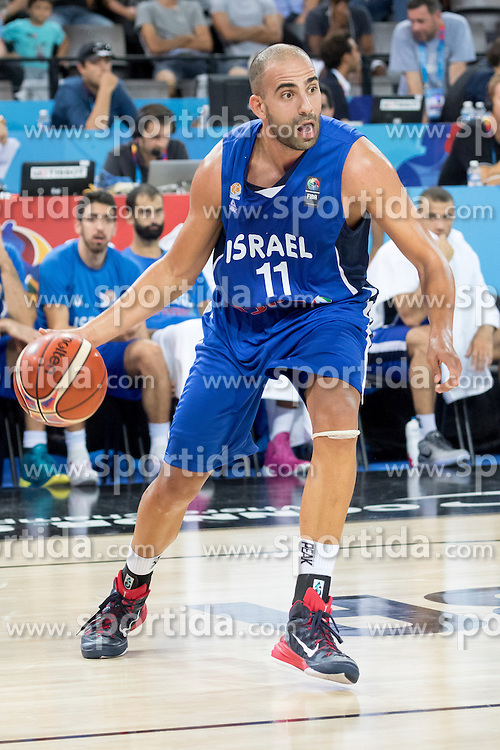 06.09.2015, Park Suites Arena, Montpellier, FRA, Finnland vs Israel, Gruppe A, im Bild ELISHAY KADIR (11) // during the FIBA Eurobasket 2015, group A match between Finland and Israel at the Park Suites Arena in Montpellier, France on 2015/09/06. EXPA Pictures &copy; 2015, PhotoCredit: EXPA/ Newspix/ Pawel Pietranik<br /> <br /> *****ATTENTION - for AUT, SLO, CRO, SRB, BIH, MAZ, TUR, SUI, SWE only*****