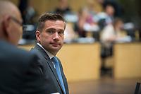 DEU, Deutschland, Germany, Berlin, 21.09.2018: Sachsens Wirtschaftsminister Martin Dulig (SPD) während einer Sitzung im Bundesrat.