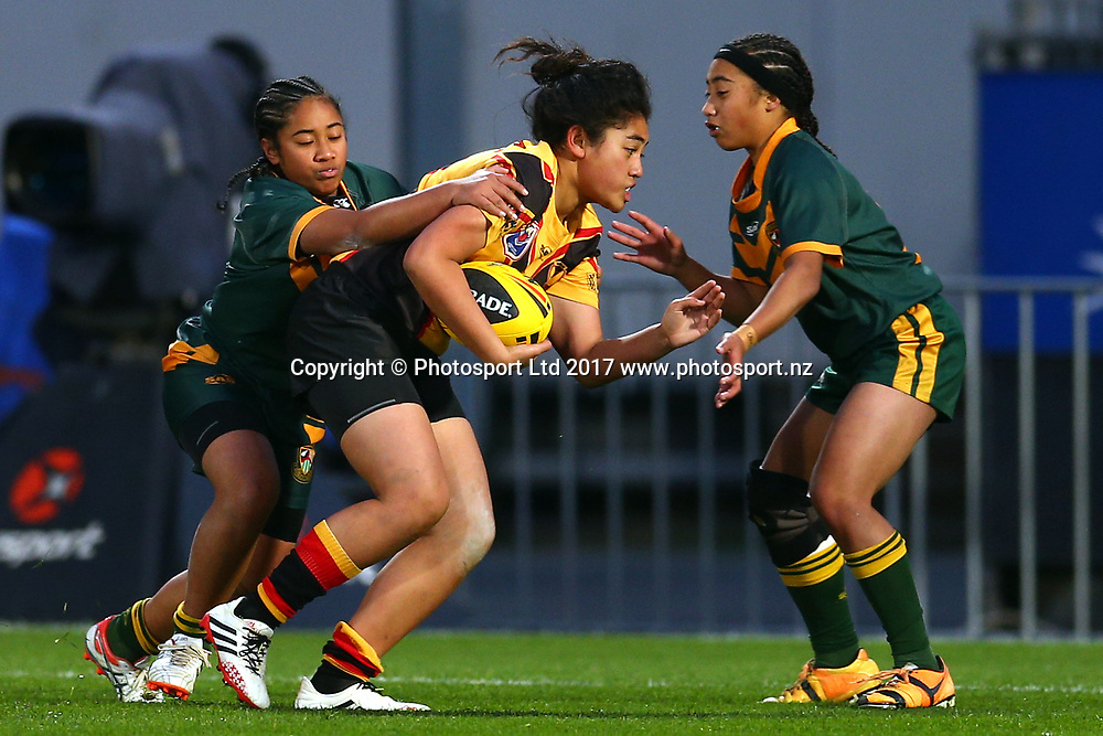 . Girls U15 Rugby League - Marist Girls v Manurewa Marlins Kotiro Toa, Rugby League at Mt Smart Stadium, Auckland, New Zealand. 14 July 2017. Copyright photo: Renee McKay / www.photosport.nz