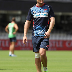 Bryce Hegarty of the NSW Waratahs during the NSW Waratahs Cap Run at  Growthpoint Kings Park Durban , South Africa. March 9th 2017(Photo by Steve Haag)<br /> <br /> images for social media must have consent from Steve Haag