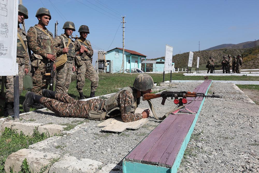 Army training in Nagorno-Karabakh