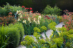 The Cottage Garden at Sissinghurst Castle in May