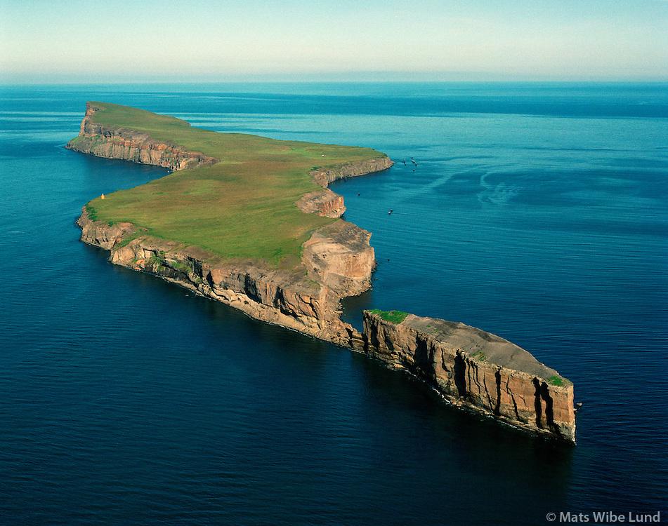 Málmey, séð til norðurs, Sveitarfélagið Skagafjörður áður Hofshreppur  /  Malmey, viewing north, Sveitarfelagid Skagafjordur former Hofshreppur.