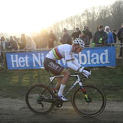 01-01-2020: Wielrennen: DVV trofee veldrijden: Baal:Mathieu van der Poel