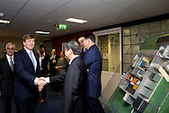Marknesse - King Willem-Alexander brings a working visit to the NLR DNW wind tunnel where a Chinese passenger plane is tested. The king will be explained by Prof. Georg Eitelberg (R) and director Michel Peters marknesse - King Willem-Alexander brings a working visit to the NLR DNW wind tunnel where a Chinese passenger plane is tested. The king will be explained by Prof. Georg Eitelberg (R) and director Michel Peters COPYRIGHT ROBIN UTRECHT MARKNESSE - Koning Willem-Alexander brengt een werkbezoek aan de NLR-DNW-windtunnel waar een Chinees passagierstoestel wordt getest. De koning krijgt uitleg van prof Georg Eitelberg (R) en Michel Peters directeur  	MARKNESSE - Koning Willem-Alexander brengt een werkbezoek aan de NLR-DNW-windtunnel waar een Chinees passagierstoestel wordt getest. De koning krijgt uitleg van prof Georg Eitelberg (R) en Michel Peters directeur  COPYRIGHT ROBIN UTRECHT
