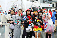 Fans and atmosphere.<br /> Japanese Grand Prix, Sunday 5th October 2014. Suzuka, Japan.