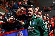 Gianmarco Pozzecco<br /> Oriora Pistoia - Banco di Sardegna Dinamo Sassari<br /> LBA Serie A Postemobile 2018-2019<br /> Pistoia, 04/01/2020<br /> Foto L.Canu / Ciamillo-Castoria