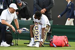 July 1, 2019 - Londres, Grande Bretagne, GB - TENNIS : Wimbledon 2019 - Gael Monfils - France (Credit Image: © Panoramic via ZUMA Press)