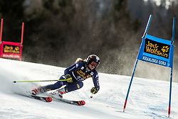 MIDALI Roberta of Italy competes during the Ladies' GiantSlalom at 56th Golden Fox event at Audi FIS Ski World Cup 2019/20, on February 15, 2020 in Podkoren, Kranjska Gora, Slovenia. Photo by Matic Ritonja / Sportida