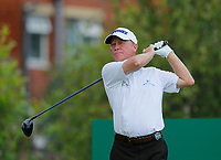 Golf - 2019 Senior Open Championship at Royal Lytham & St Annes - First Round <br /> <br /> Jeff Sluman (USA) plays his drive off the 2nd tee.<br /> <br /> COLORSPORT/ALAN MARTIN