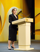 Liberal Democrats<br /> Autumn Conference 2011 <br /> at the ICC, Birmingham, Great Britain <br /> <br /> 17th to 21st September 2011 <br /> <br /> Sarah Teather MP<br /> Minister of State for Children and Families<br /> <br /> Photograph by Elliott Franks