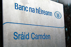 Bank of Ireland Camden Street Dublin [Irish] © London News Pictures 10/01/2011.Irish Prime Minister Brian Cowen is under pressure over his relationship with former Anglo Irish Bank chairman Sen FitzPatrick. Anglo Irish Bank was taken into state ownership in January 2009 and is the largest contributor of assets to the Irish National Asset Management Agency. Picture caption should read Simon Lamrock/LNP