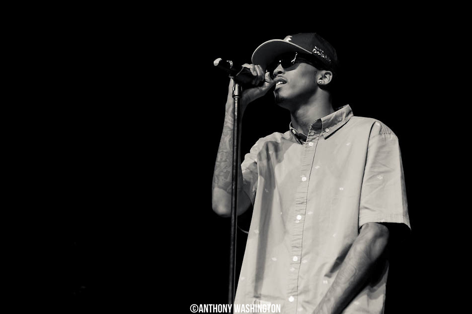 August Alsina performs at Rams Head Live on Tuesday, May 28, 2013 in Baltimore, MD.