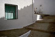 August 2004 - Spain, Andalusia, white village.
