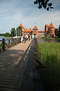 Photo of the old castle at Trakai, Lithuania