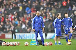 EDDIE NEWTON CHELSEA FIRST TEAM COACH,  MK Dons v Chelsea,  FA Cup 4th Round Stadium MK Sunday 31st January 2016