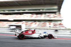 March 9, 2018 - Bracelona, Spain - Charles Leclerc, Sauber..Motorsports: FIA Formula One World Championship 2018, Test in Barcelona, 2018-03-09..(c) JERREVÃ…NG STEFAN  / Aftonbladet / IBL BildbyrÃ¥....* * * EXPRESSEN OUT * * *....AFTONBLADET / 2800 (Credit Image: © JerrevÃ…Ng Stefan/Aftonbladet/IBL via ZUMA Wire)