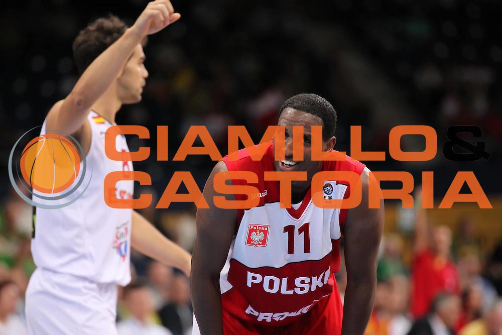 DESCRIZIONE : Panevezys Lithuania Lituania Eurobasket Men 2011 Preliminary Round Spagna Polonia Spain Poland<br /> GIOCATORE : Thomas Kelati<br /> SQUADRA : Polonia Poland<br /> EVENTO : Eurobasket Men 2011<br /> GARA : Spagna Polonia Spain Poland <br /> DATA : 31/08/2011 <br /> CATEGORIA : ritratto headshot<br /> SPORT : Pallacanestro <br /> AUTORE : Agenzia Ciamillo-Castoria/ElioCastoria<br /> Galleria : Eurobasket Men 2011 <br /> Fotonotizia : Panevezys Lithuania Lituania Eurobasket Men 2011 Preliminary Round Spagna Polonia Spain Poland<br /> Predefinita :