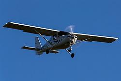 Cessna 162 Skycatcher (N162HG) lands at Palo Alto Airport (KPAO), Palo Alto, California, United States of America