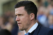 Chesterfield Manager Gary Caldwell during the EFL Sky Bet League 1 match between Chesterfield and Rochdale at the Proact stadium, Chesterfield, England on 25 March 2017. Photo by Aaron  Lupton.